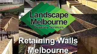 Treated Pine Timber Retaining Walls Melbourne - Get A Free Landscaping Quote Melbourne