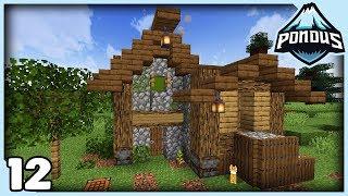 Dejlig indgang til base! / Dansk Minecraft / Pondus++ #12