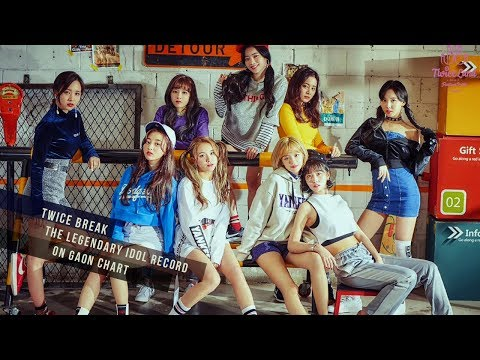 Twice Break The Legendary Idol Record On Gaon Chart