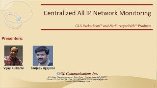 Centralized All IP Network Monitoring