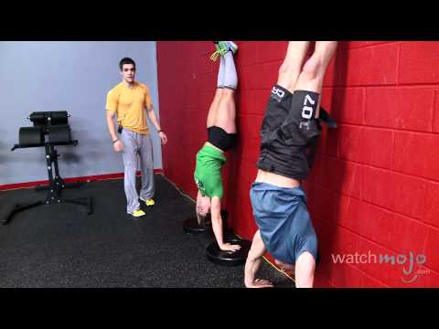 CrossFit Workout: Exercises - Handstand Pushups, Double Unders