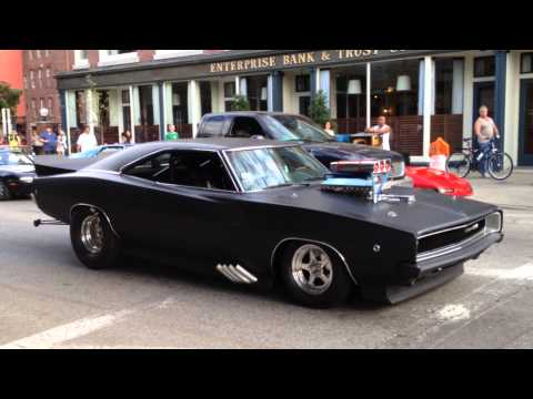 1968 Dodge Charger - American Muscle Car (Pro Street)