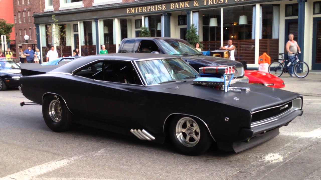 Dodge Charger American Muscle Car Pro Street Youtube