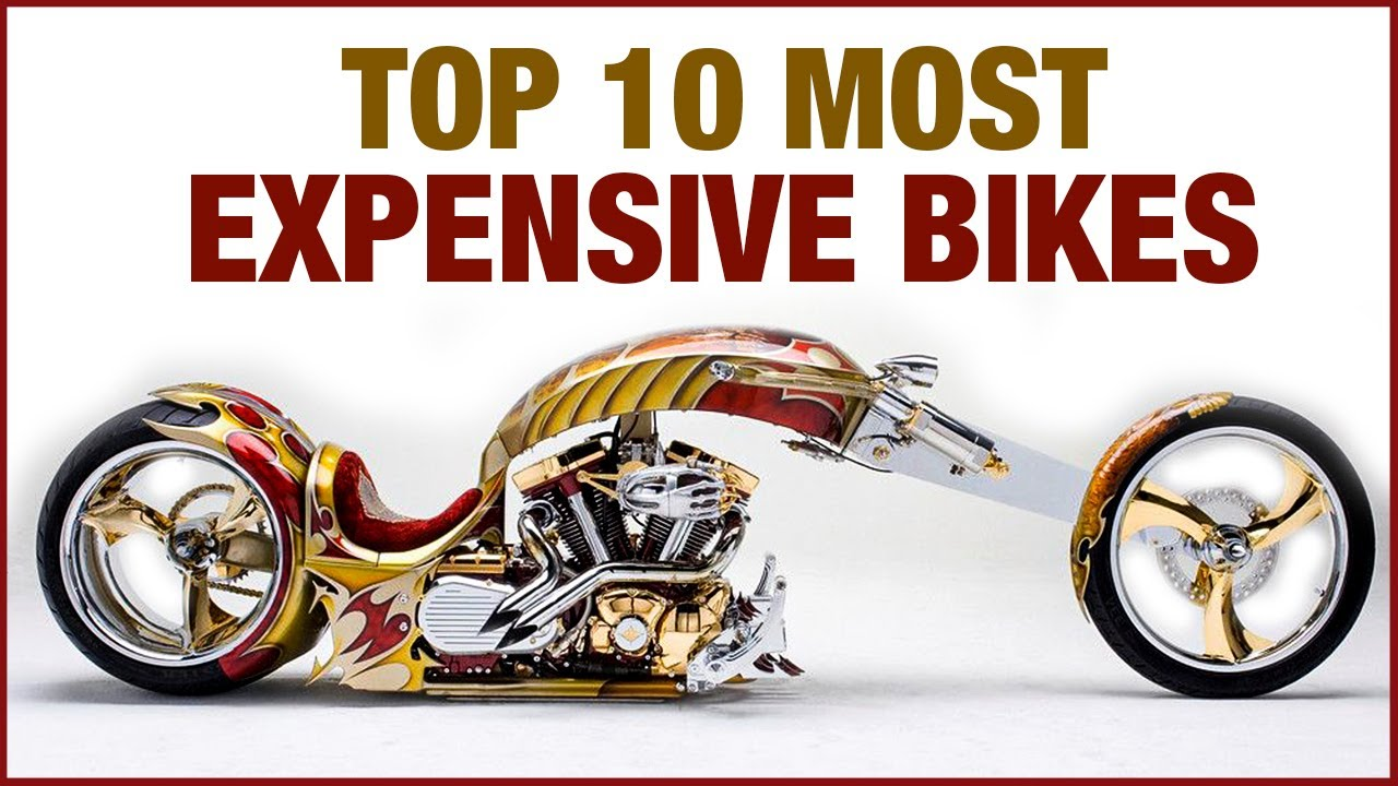 Top 10 Most Expensive Bikes in the World | CarMyCar