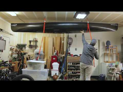 The best way to store you Kayak or Canoe