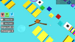 ROBLOX jouant méga fun Obby 739-750