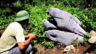 Chuyện lạ đời - Ly kỳ chuyện hòn đá thèm ăn thịt ở Hòa Bình