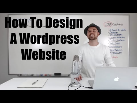 How To Design A WordPress Website – 2015
