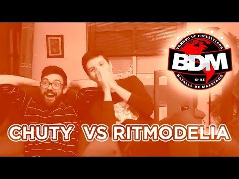 CHUTY VS RITMODELIA | BATALLÓN | BDM DELUXE | REACCIÓN
