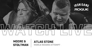 Full Live Stream | Moore & Stoltman Atlas Stone Record Attempt