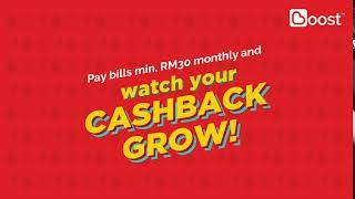 Boost™ - Pay Bills with Boost App & Enjoy RM20 Cashback