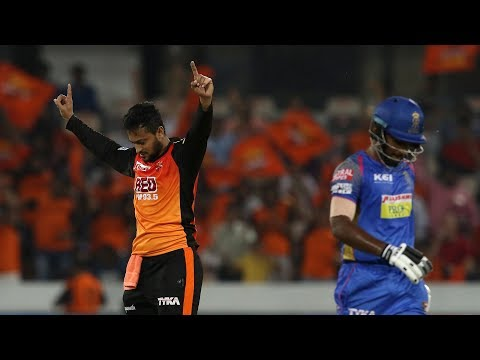 IPL 2018: Sunrisers Hyderabad's bowling was a little too strong for Rajasthan Royals as they coul...