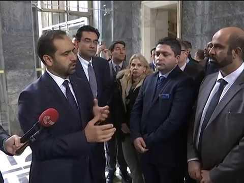 AHMET BERAT ÇONKAR - TBMM NATO HEYETİ KABULÜ HABERİ - 20.12.2017