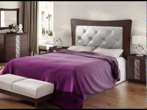 Dormitorios con cabeceros altos tapizados y en madera - YouTube