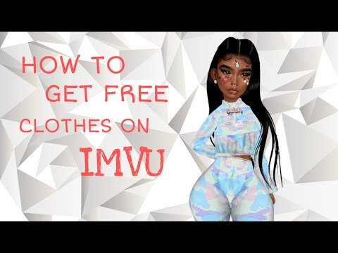 HOW TO GET FREE CLOTHES ON IMVU FREE 2019 ( NOT CLICKBAIT)