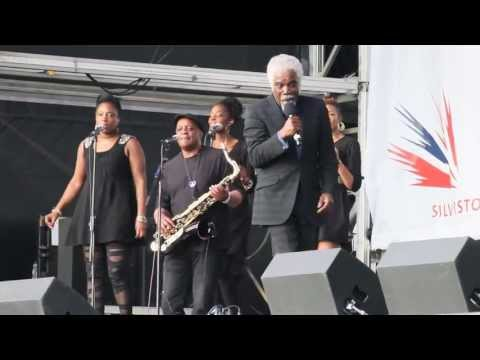Billy Ocean sings 'When the Going Gets Tough' live at the 2013 British Grand Prix at Silverstone