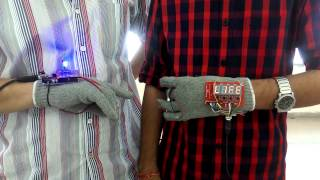 Glove Above: NASA Space Apps Challenge - DELHI