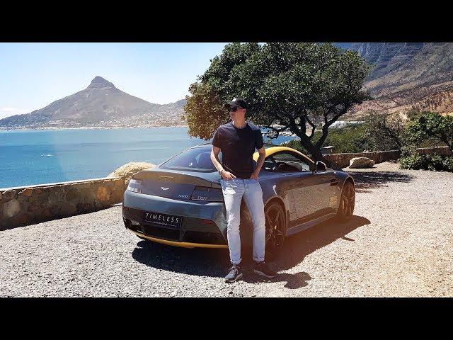 Exploring Cape Town In An Aston Martin Vantage