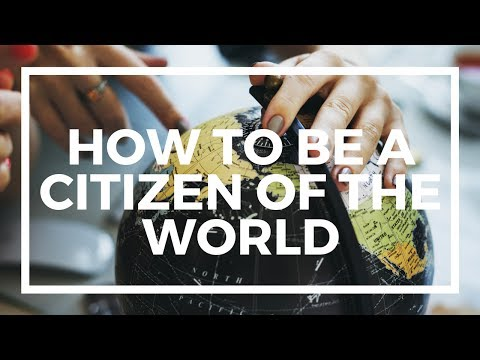 The Stateless Man talks about being a citizen of the world