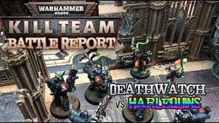 Warhammer 40k: Kill Team Battle Report - COMMANDERS 'Tip of the Spear'