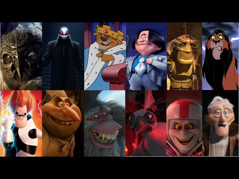 defeats of my favourite animated movie villains part i