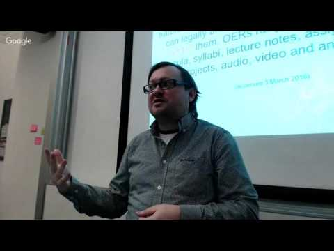 Open Data as Open Educational Resources