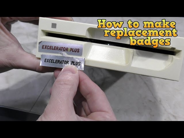 How to make replacement badges