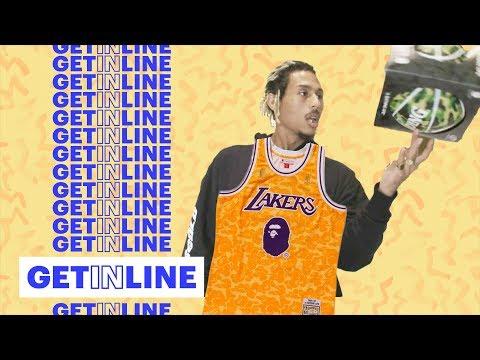 Racks Scores BAPE x Mitchell & Ness x NBA Gear in L.A. | Get In Line