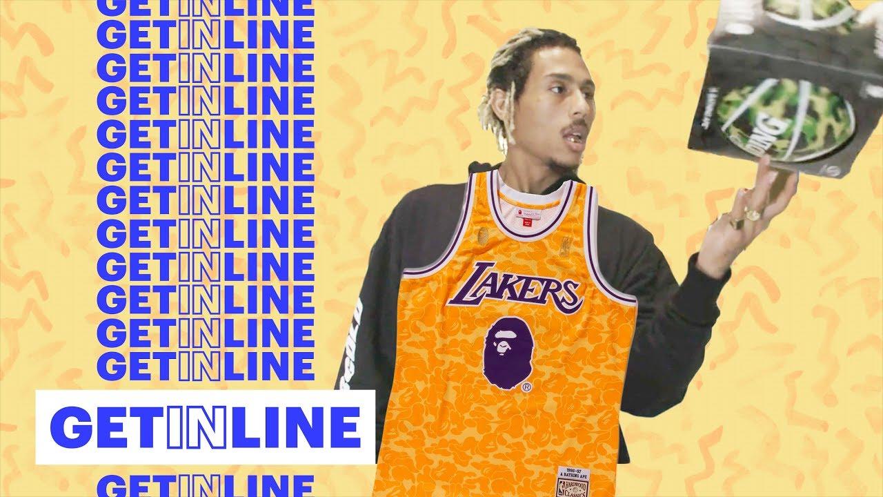Racks Scores BAPE x Mitchell   Ness x NBA Gear in L.A.  af816783a