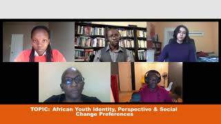 SAYDS CONVERSATIONS #3  African Youth Identity, Perspectives & Social Change Preferences