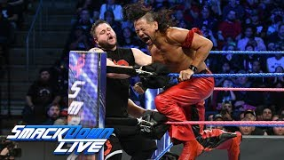 Nakamura & Orton battle Owens & Zayn in SmackDown LIVE's main event: SmackDown LIVE, Oct. 17, 2017