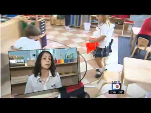 La Prima Casa Montessori School on ABC Channel 10 News.