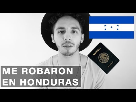 STORY TIME | ME ROBAN EL PASAPORTE Y VISA EN HONDURAS | ROGER GIL