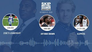 Zeke's leadership, Antonio Brown, Clippers (10.22.20) | UNDISPUTED Audio Podcast