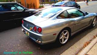 1 Car Show and a Ferrari