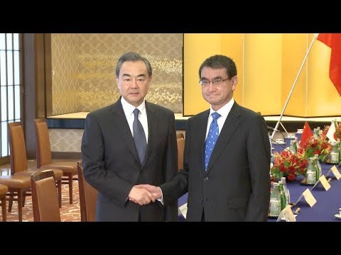 Chinese, Japanese Foreign Ministers Meet on Bilateral Ties