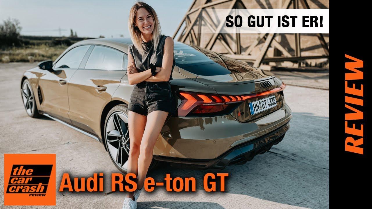 Audi RS e-tron GT im Alltagstest (2021) So GUT ist er wirklich! Fahrbericht | Review | Sound | Preis