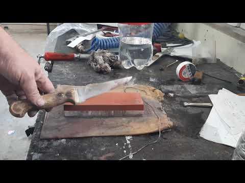 Fischer Oval Masat ile Bıçak Bileme ve  (Masat Atma Teknikleri)
