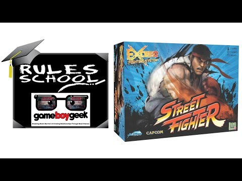Exceed Street Fighter Ryu Box Board Game Boardgamegeek