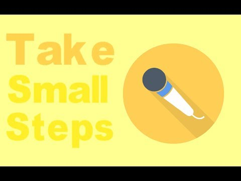 Take Small Steps Podcast Ep 1: 1st hand and 2nd hand experience explained...