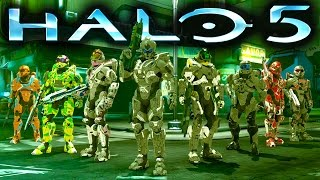 HALO 5 GAMEPLAY | First Ever FFA Game on Plaza (Halo 5 Guardians Gameplay)