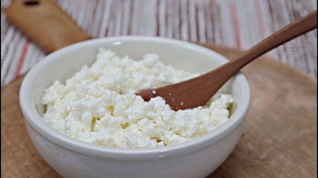 How to Make Ricotta Cheese - with Cow's Milk or Goat's Milk - YouTube