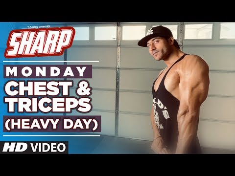 MONDAY – Chest & Triceps (HEAVY DAY) – SHARP 12 Week Fat Loss program by Guru Mann
