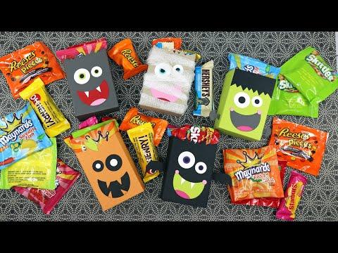 Easy Boo Boxes For Halloween Treats | MFT Boo Box Dies | AmyR Halloween 2020 Series #9