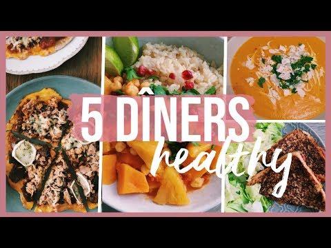5-idées-de-dîners-healthy,-simples-et-gourmands-pour-la-semaine