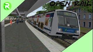 Open Rail - RER E Mission (COCHI) - Paris St-Lazare à Chelles Gournay - MI2N [FR-HD]