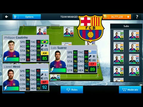 How To Import Real Face All FC Barcelona Players in Dream League Soccer 2018