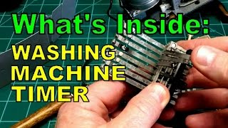 Inside a Washing Machine Timer - ASMR