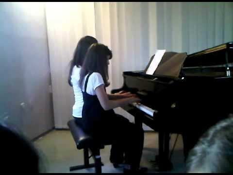 Adios Muchachos piano duet - J Sanders