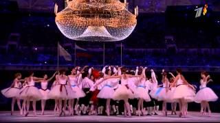 видео Церемония открытие олимпийских игр в Сочи 2014 года HD HDTV1080i